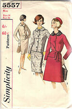 Simplicity Pattern 5557, Vintage Suit with Two Skirts, Size 14, Bust 34