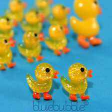 FUNKY SMALL RUBBER DUCKY EARRINGS CUTE KITSCH FUN GIRLS SWEET COOL KAWAII DUCK