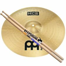 Meinl HCS 16 Crash Becken + Keepdrum Drumsticks