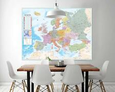 Europakarte XXL Poster Flaggen 135 X 100 Cm
