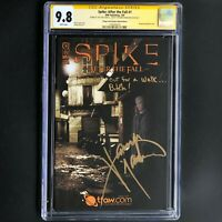 Spike: After the Fall #1 (IDW 2008) | SIGNED JAMES MARSTERS | CGC 9.8 SS Buffy