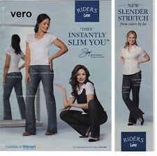 LEE RIDERS jeans 2009 mag print ad page clipping STACY LONDON what not to wear