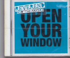 Reverend And The Makers-Open Your Window cd maxi single sealed