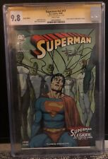 ACTION COMICS 860 & 861 CGC SS 9.8 ITALIAN DOUBLE EDITION SIGNED BY GARY FRANK