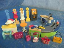 Viele Möbel Einrichtung Geldautomat Mode Puppen zu 5485 5486 Playmobil 8686