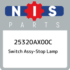 25320AX00C Nissan Switch assy-stop lamp 25320AX00C, New Genuine OEM Part