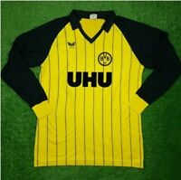 Borussia Dortmund Trikot Erima UHU Langarm BVB West Germany Gr. M 1982/1983