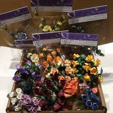 Flower Craft Boxes Containing An Assortment of Flowers, Job Lot, Card Making