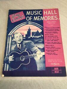 Bing Crosby's Music Hall Of Memories Songbook