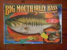 Big Mouth Billy Bass Singing Sensation Wall Trophy Fish Motion Activated In Box