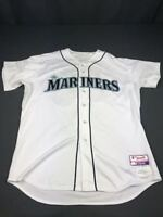 2015 Mike Rojas Seattle Mariners Game Used Worn Home Baseball Jersey! MLB!