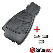 Mercedes Benz Autoschlüssel 3T Gehäuse W202 W203 W208 W210 W211 +3x Mikrotaster