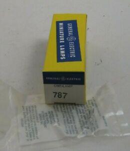 GE 787 10 Watt 6 Volt 2 Pin G4 Base Miniature Lamp / Bulb - T2.25 (T2 1/4) -