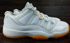 fbf6f29293 Nike Air Jordan Retro 11 Low Citrus kids size 8Y white/citrus orange 580522-