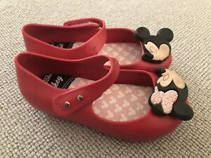 Mini melissa Minnie mouse Shoes Size 24