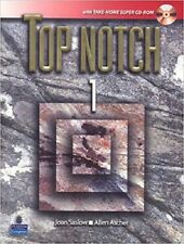 Top Notch 1 with Take-Home Super CD-ROM 1st Edition by Joan Saslow & Allen Asche