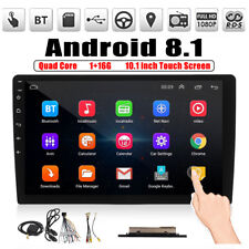 10.1'' Android 8.1 Car Stereo 2DIN WIFI GPS Nav Quad Core Radio Video MP5 Player