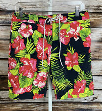 """New listing J CREW Men's New Size 29 9"""" Inseam  Floral Lined Swim Trunks Board Shorts"""