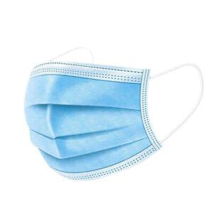 50 X Face  Mask Disposable 3Ply Face Masks Premium Dust Masks Anti Bacterial