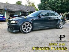 NEW Fender Flares Rocket Bunny Style for BMW E46 / premium sheet metal 1/32""