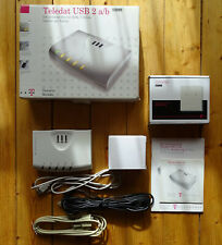 Telekom Teledat USB 2 a/b ? ISDN-Telefonanlage, AB-Wandler