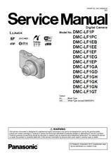 Panasonic Lumix DMC LF1 Digital Camera Service Manual & Repair Guide