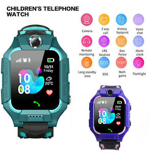 Waterproof Kids Smart Watch Anti-lost Safe GPS Tracker  For Android