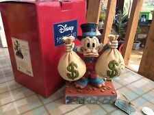 "V Rare Disney Tradition 'uncle scrooge-mcduck' A Wealth Of Riches 7.5"" Boxed"