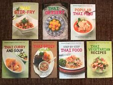 Cookbook Thai Popular Master Chef Series New Books Paperback Complete Set