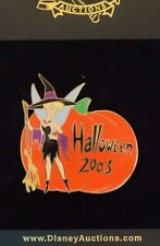 DISNEY AUCTIONS HALLOWEEN 2003 TINKER BELL DRESSED AS WITCH PUMPKIN LE 100 PIN