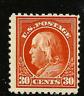 US #516 Mint-NH  1917 Regular Flat Press ~ Perf 11...Free Shipping....[SK]