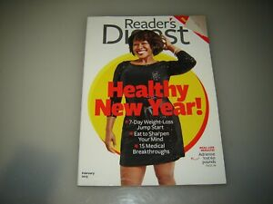 2 Reader's Digest magazines January 2013 and February 2013