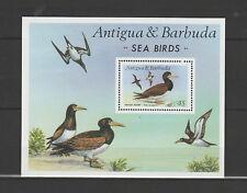 Antigua  et Barbuda bloc  faune marine oiseaux   1987  num 126  **