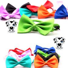Cat Dog Clothes Accessories Puppy 2x Fashion Necktie Cute Bow Tie Pet Collar