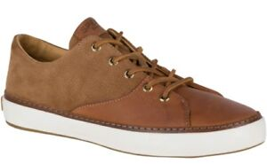 Sperry Gold Cup Haven Sneaker Tan Leather Sneakers Top-Sider EU 42 Men's 9 M New