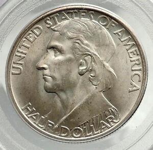 1937 DANIEL BOONE 200th Commemorative US Silver Half Dollar Coin PCGS MS i76430