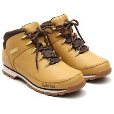 Timberland Mens Euro Sprint Mid Hiker Tectuff Wheat Boots Hiking Shoes