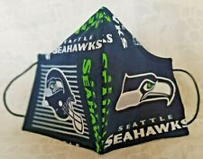 Seattle Sea Hawks Football Team Filtered Face Mask His/Hers Pandemic Waterproof
