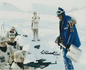 """Bill Westley in person 10"""" x 8"""" signed photo - Star Wars - K607"""