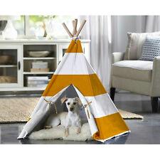 Merry Pet Cat Dog Pet Orange Stripe Large Teepee Ptp0020202200