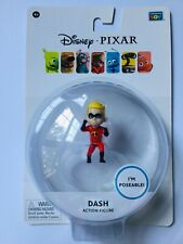 """Disney Pixar, Poseable Dash Action Figure From The Incredibles, 2"""" Tall, Nip"""