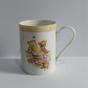 Royal Doulton Winnie the Pooh Mug - Happy Birthday
