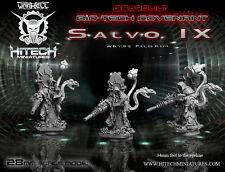 HITECH MINIATURES - 28SF082 Salvo IX *Warhammer 40k 40000*