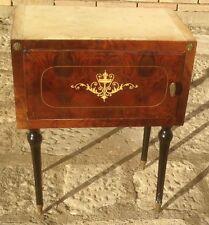 comodino in legno in legno vintage in legno modernariato impero vintage anni 60