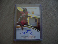 Leonte Carroo 2016 Immaculate Auto Rc 2 Color Jsy 08/99 Rutgers Scarlett Knights
