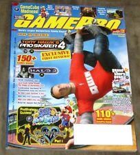 Gamepro Magazine #170 November 2002 w/Godzilla Destroy All Monsters Poster