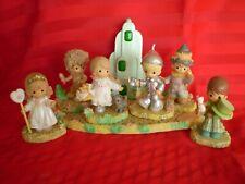 Precious Moments Wizard of Oz Emerald City Set 7 Piece Set