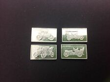 VINTAGE CLASSIC CARS .925/1000 MINI COLLECTABLE INGOTS (SET OF 4)