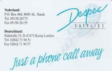 Telefoonkaart / Phonecard Nederland CRE044 ongebruikt - Despec Supplies
