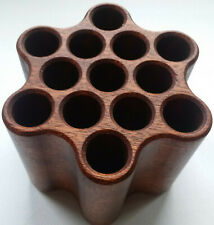 More details for the tool comb * handcrafted* wooden pen stand - looook